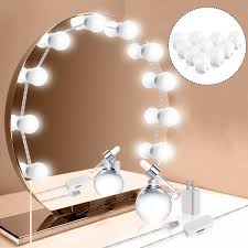 makeup mirror globe kit