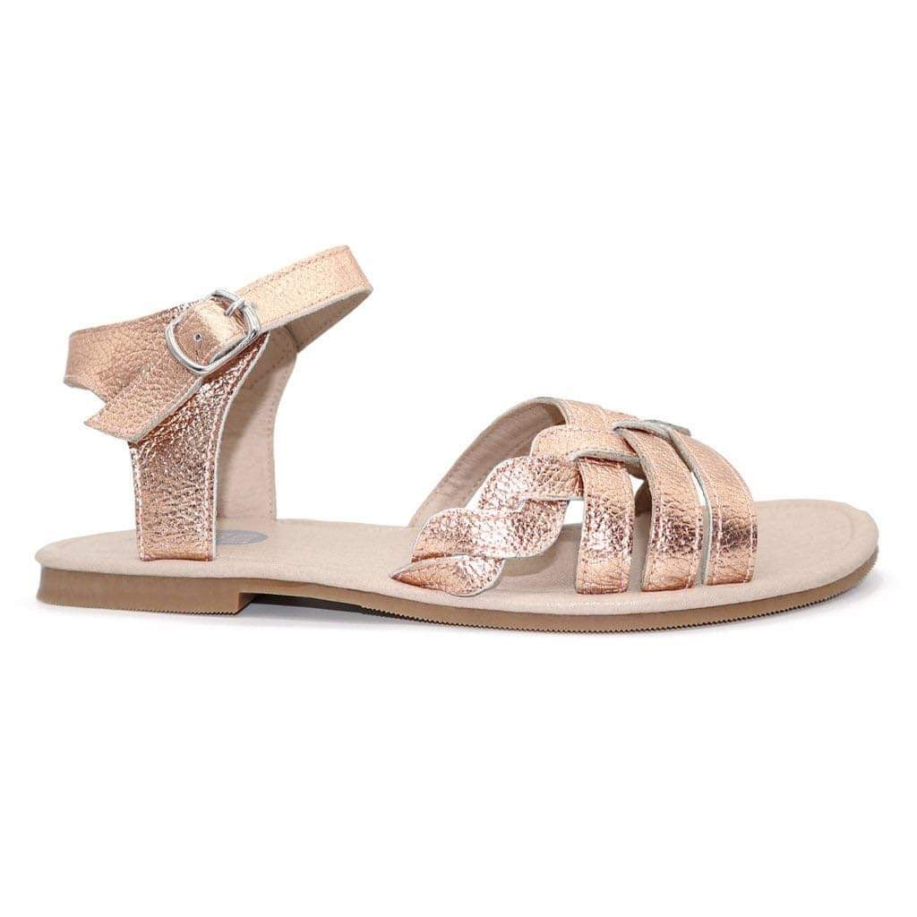 Leora Sandals - Rose gold