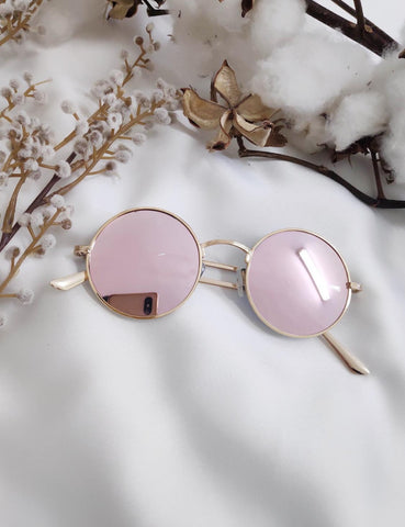 Rita Sunglasses - Rose gold
