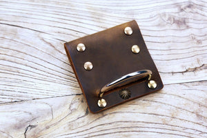 leather tool belt hanger