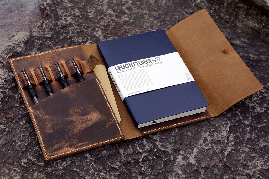 leather Leuchtturm 1917 cover