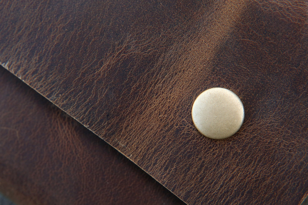 Leather field notes wallet cover travel journal wallet