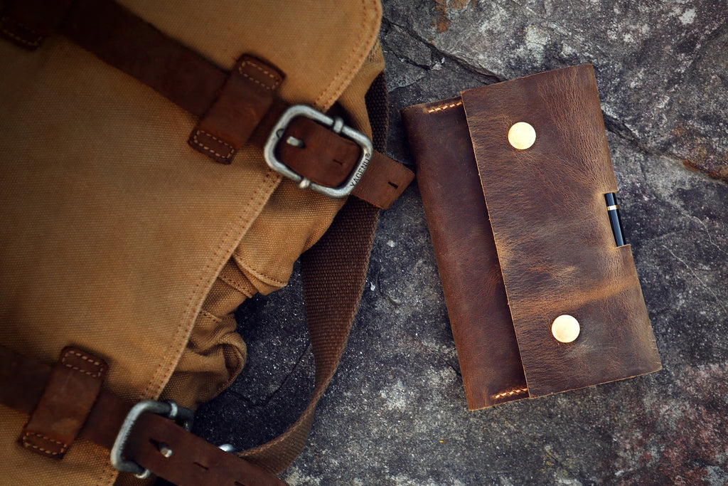 leather EDC case