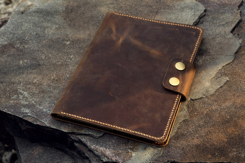 leather RHODIA No16 cover