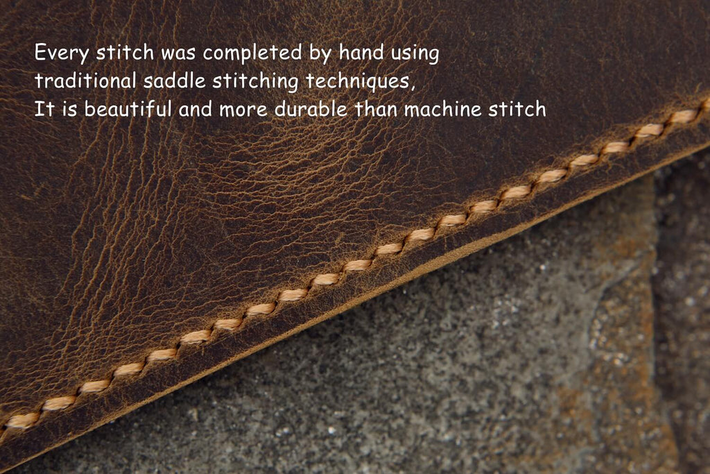 Personalized rhodia webnotebook leather cover A5
