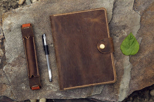 rhodia leather cover