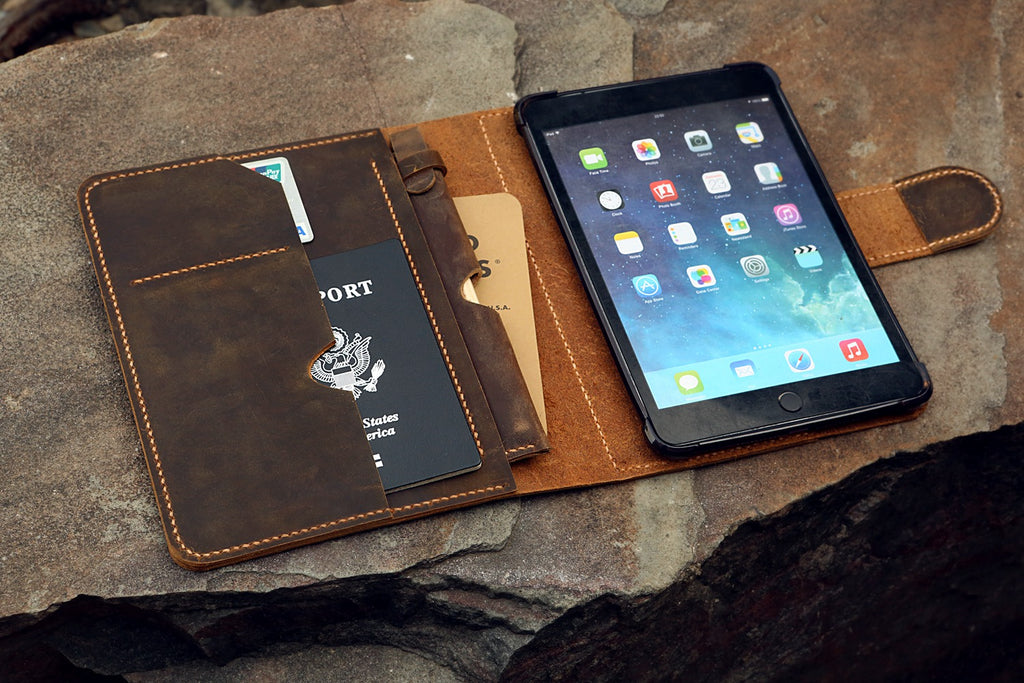ipad mini leather cover