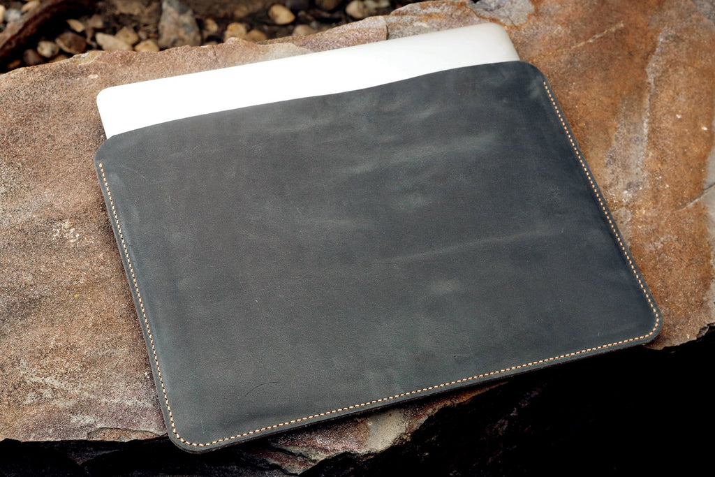 leather macbook air case