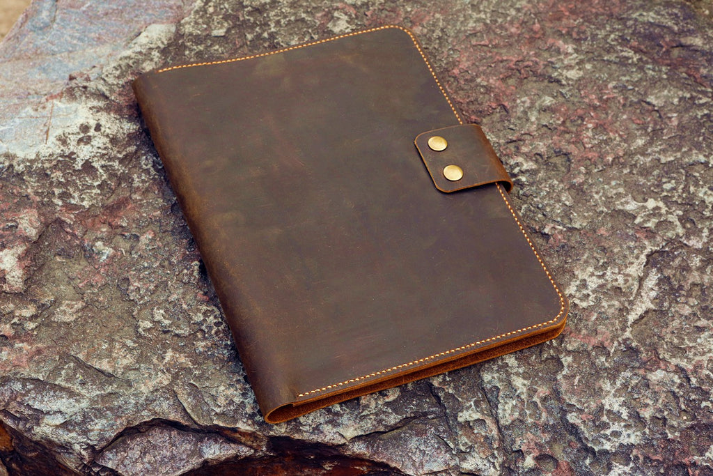leather business padfolio