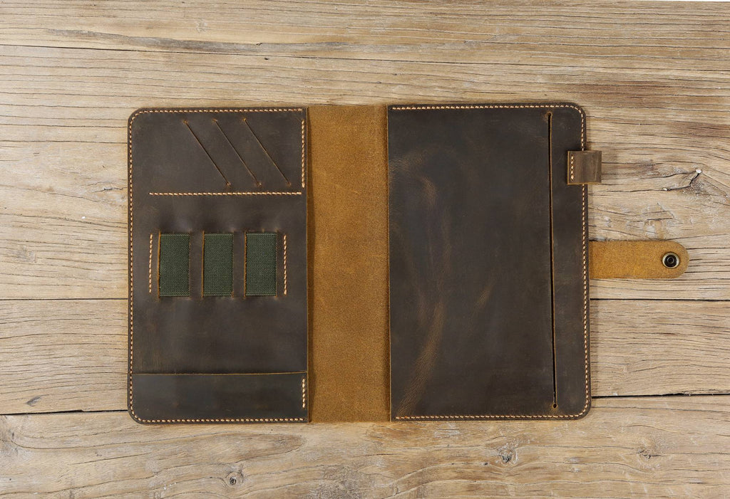 Customized Full Focus Planner leather cover case