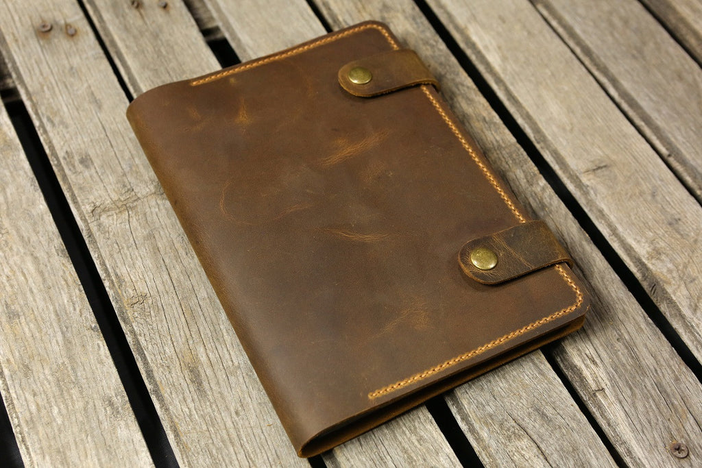 Personalized Leather iPad stand cover case for New iPad / iPad Pro 9.7 10.5