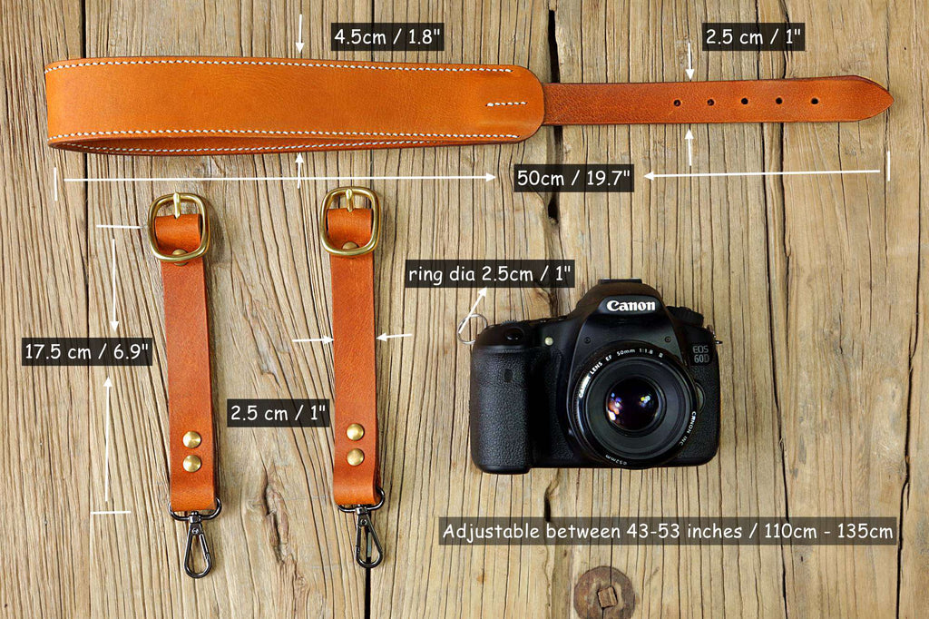 Personalized custom camera straps