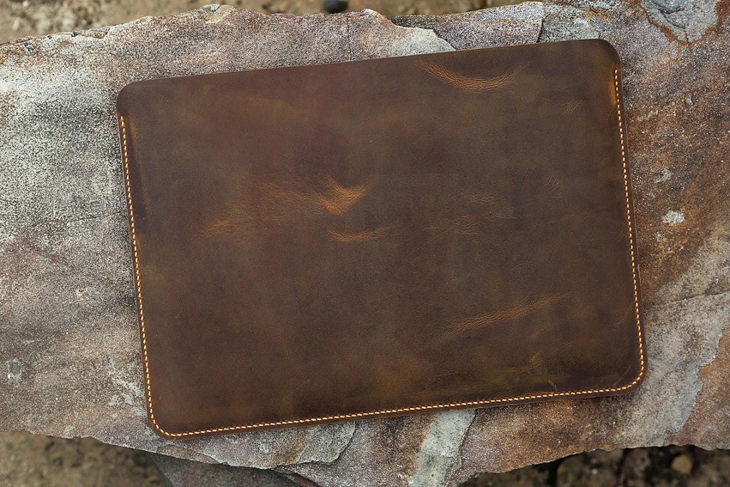 leather macbook sleeve 15