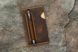leather field notes case