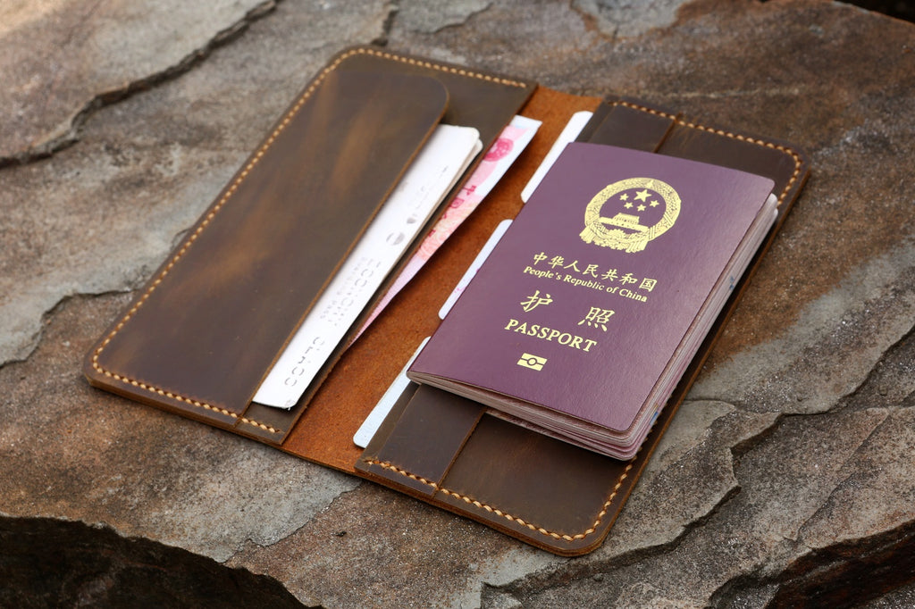 long travel wallet