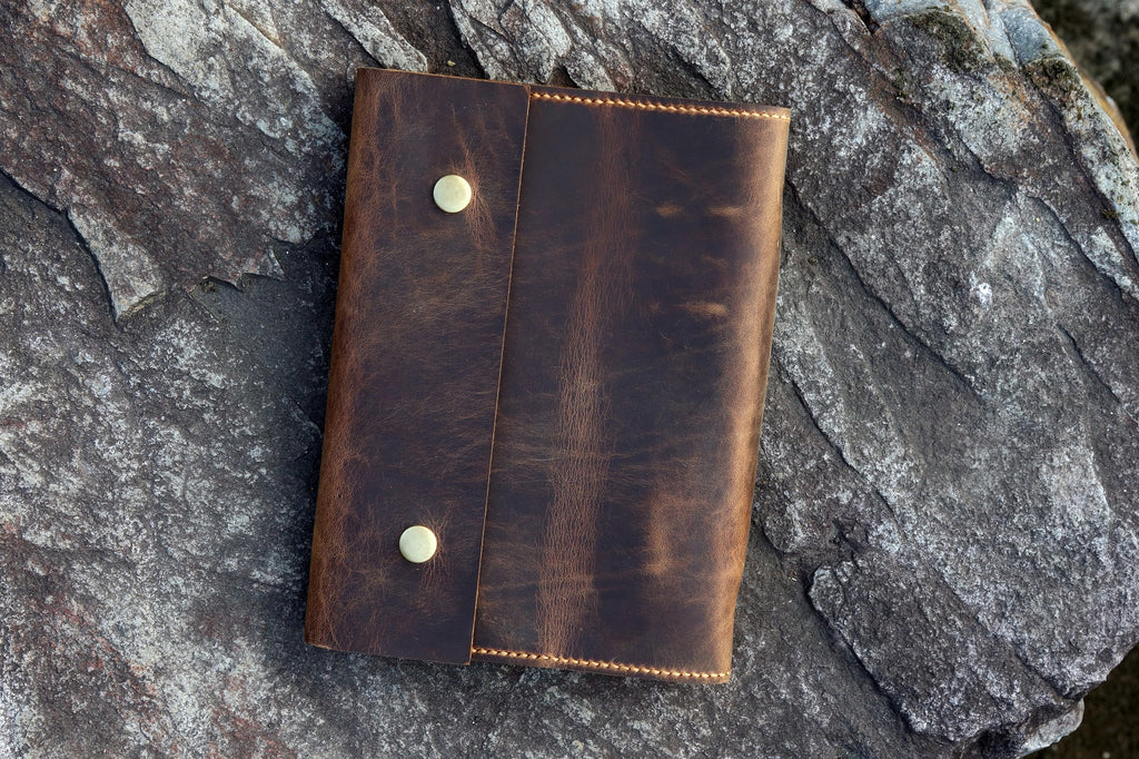 leather A5 binder