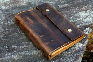 A5 leather refill