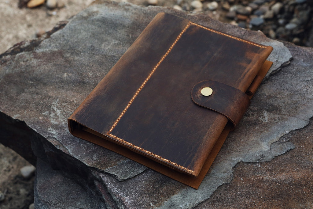 leather refill diary