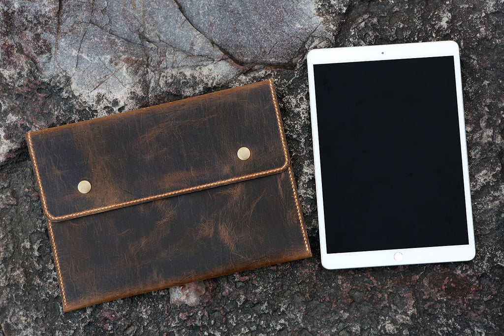 leather sleeve for new iPad Pro 12.9