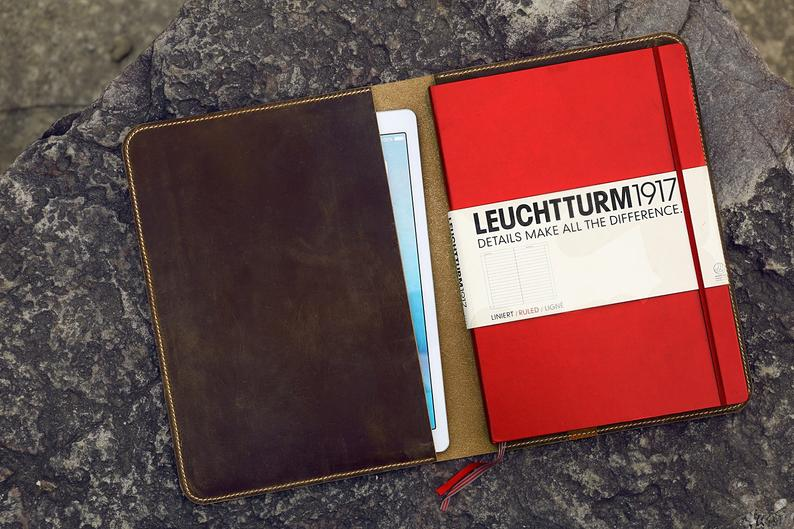 leather cover for leuchtturm1917 master slim