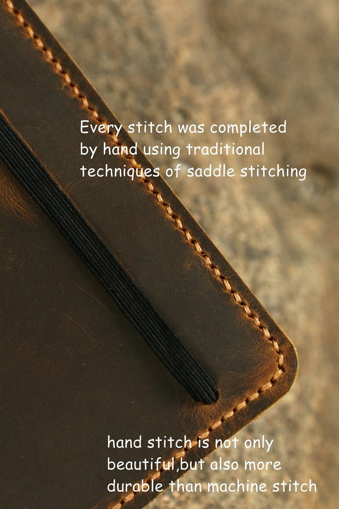 Leather cover for Leuchtturm1917 Medium A5 Notebook