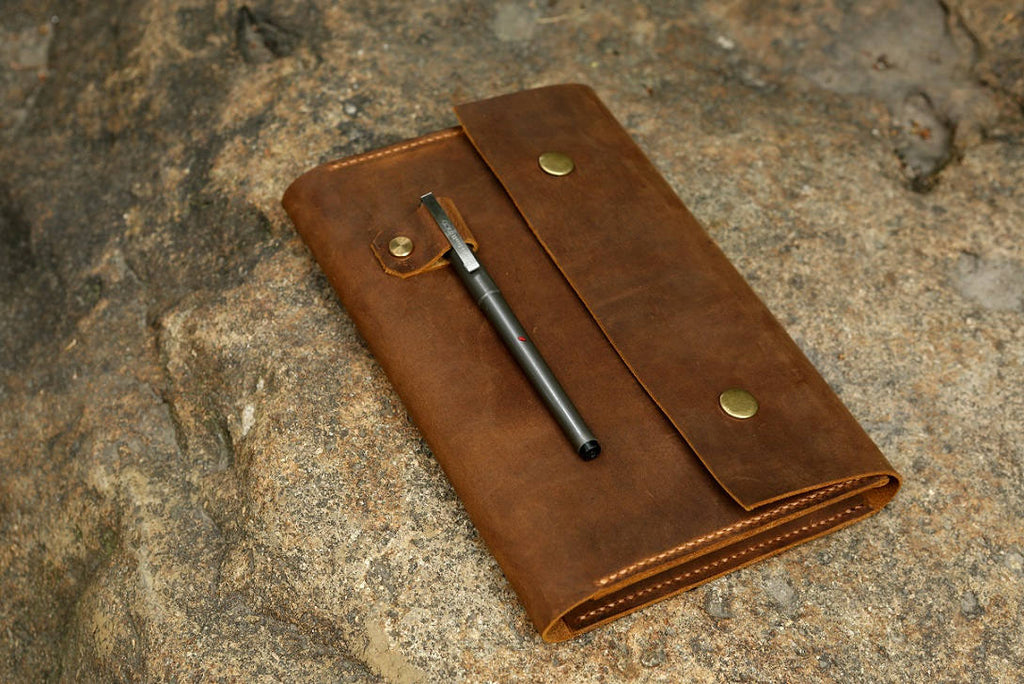 leather journal cover for Leuchtturm1917 JOTTBOOK A5