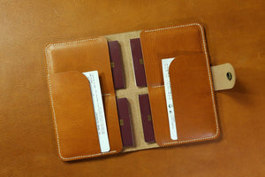 family passport holder for 4