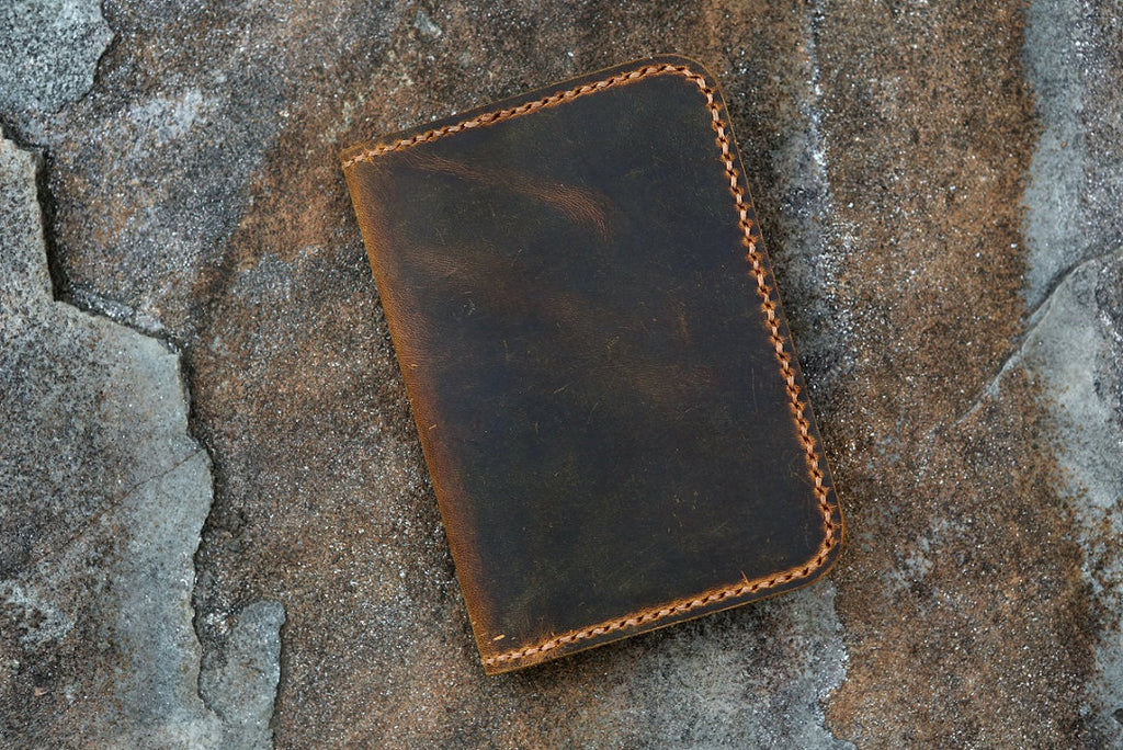 "leather diary journal for small mini composition notebook 4.5 x 3.25""  pocket size"