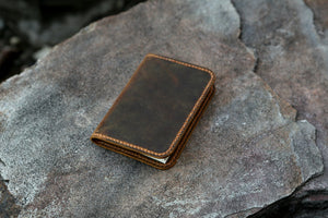 leather cover for mini composition notebook