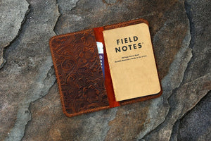 custom leather field notes cover