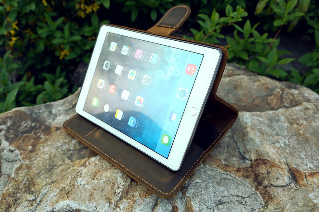 leather stand cover for new iPad