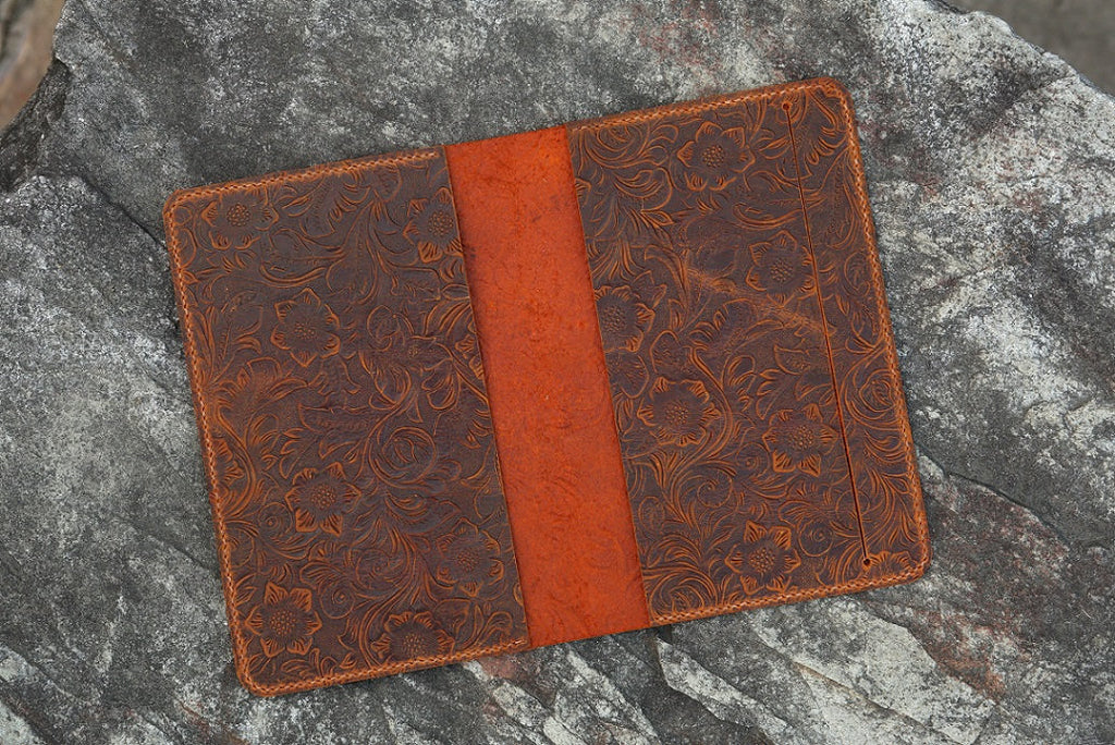 Women embossing Leather cover for Leuchtturm1917 Medium A5 Notebook