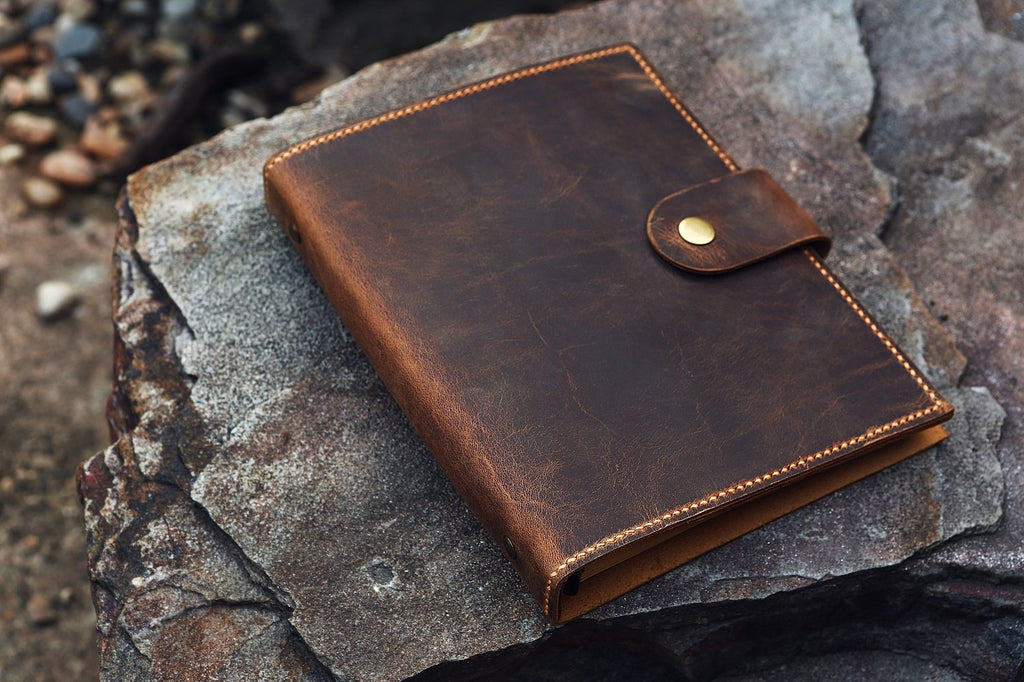A5 leather organizer Planner