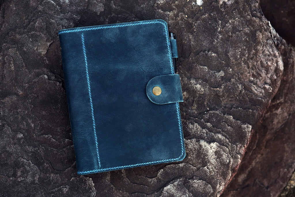 leather A5 diary