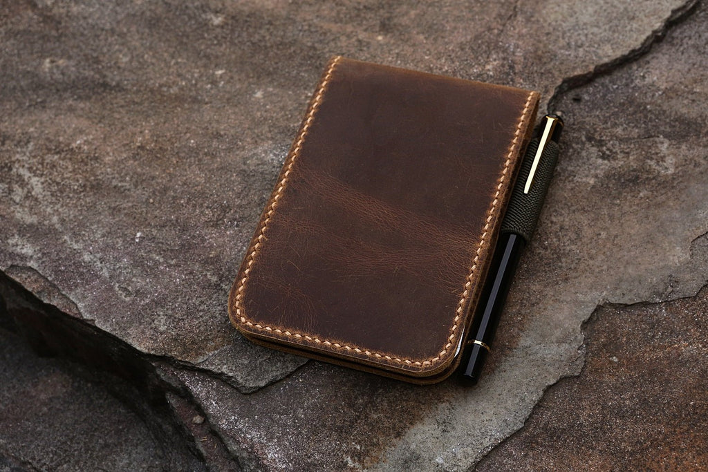 leather notepad for rite in the rain notebook