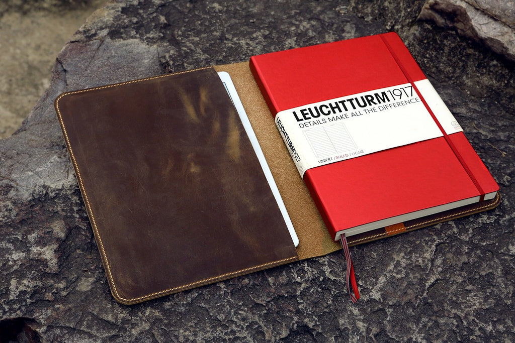 leather cover for Leuchtturm 1917 Master SLIM A4+