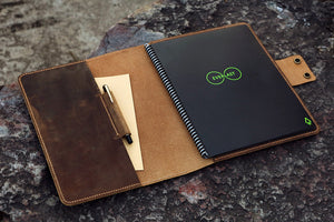 leather folio for rocketbook letter size
