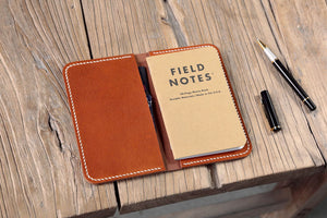 field notes leather wallet holder case cover