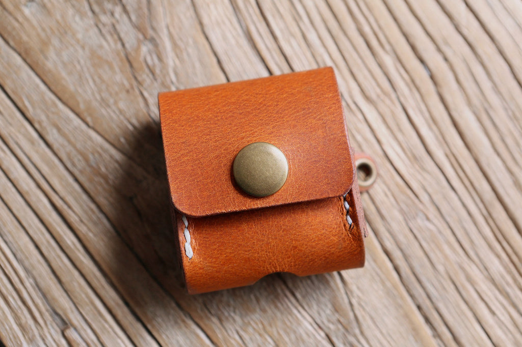 custom leather airpod air pod case cover