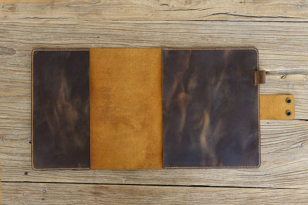 leather cover for 5 five star spiral notebooks