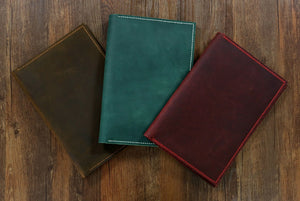 leather turquoise travel notebook