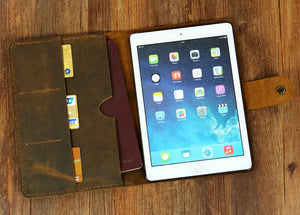 leather iPad pro cover
