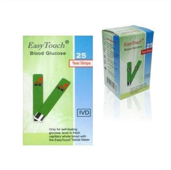 Strip-Stik Gula darah-Glucose Easy Touch GCU