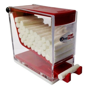 Dental Cotton Roll Dispenser Merah OneMed
