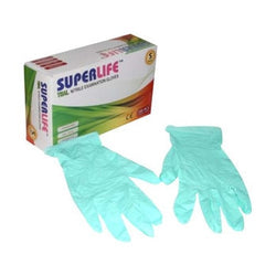 Nitrile Gloves Teal