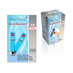 Strip-Stik Kolesterol-Cholesterol Easy Touch GCU
