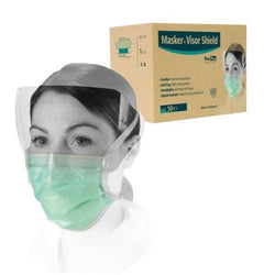 Masker Tali+Visor Shield Anti Fog OneMed Pak isi 10pcs