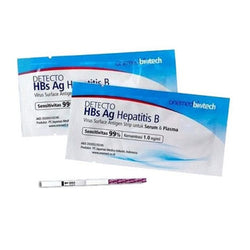 Detecto HBs Ag Hepatitis B Test Strip pcs OneMed