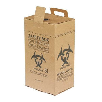 Safety Box Coklat 5Liter OneMed
