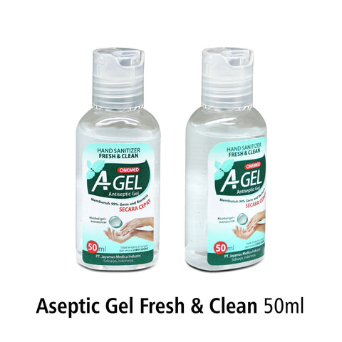 Aseptic Gel Fresh & Clean 50ml OneMed